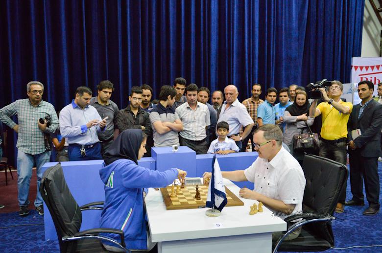 پایان دور نخست شطرنج استاندارد جام ستارگان