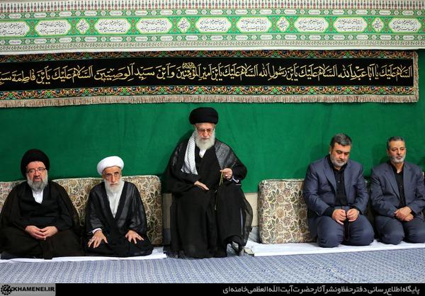 عزاداری سالار شهیدان (ع) با حضور رهبر معظم انقلاب