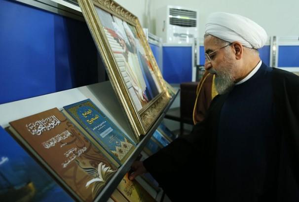 آغاز نمایشگاه مطبوعات با حضور رئیس جمهور