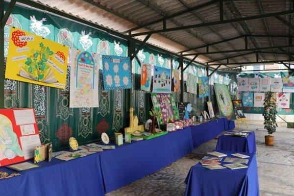 نمایشگاه « نماز، دستِ سبز دعا» در رشت افتتاح شد