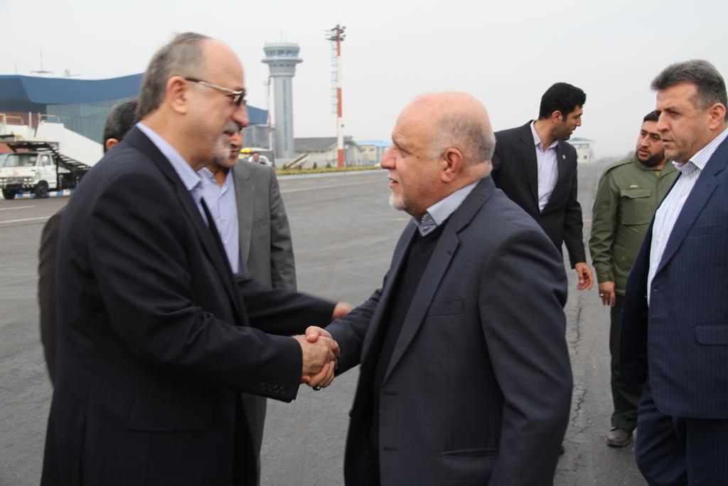 ورود وزیر نفت به گیلان