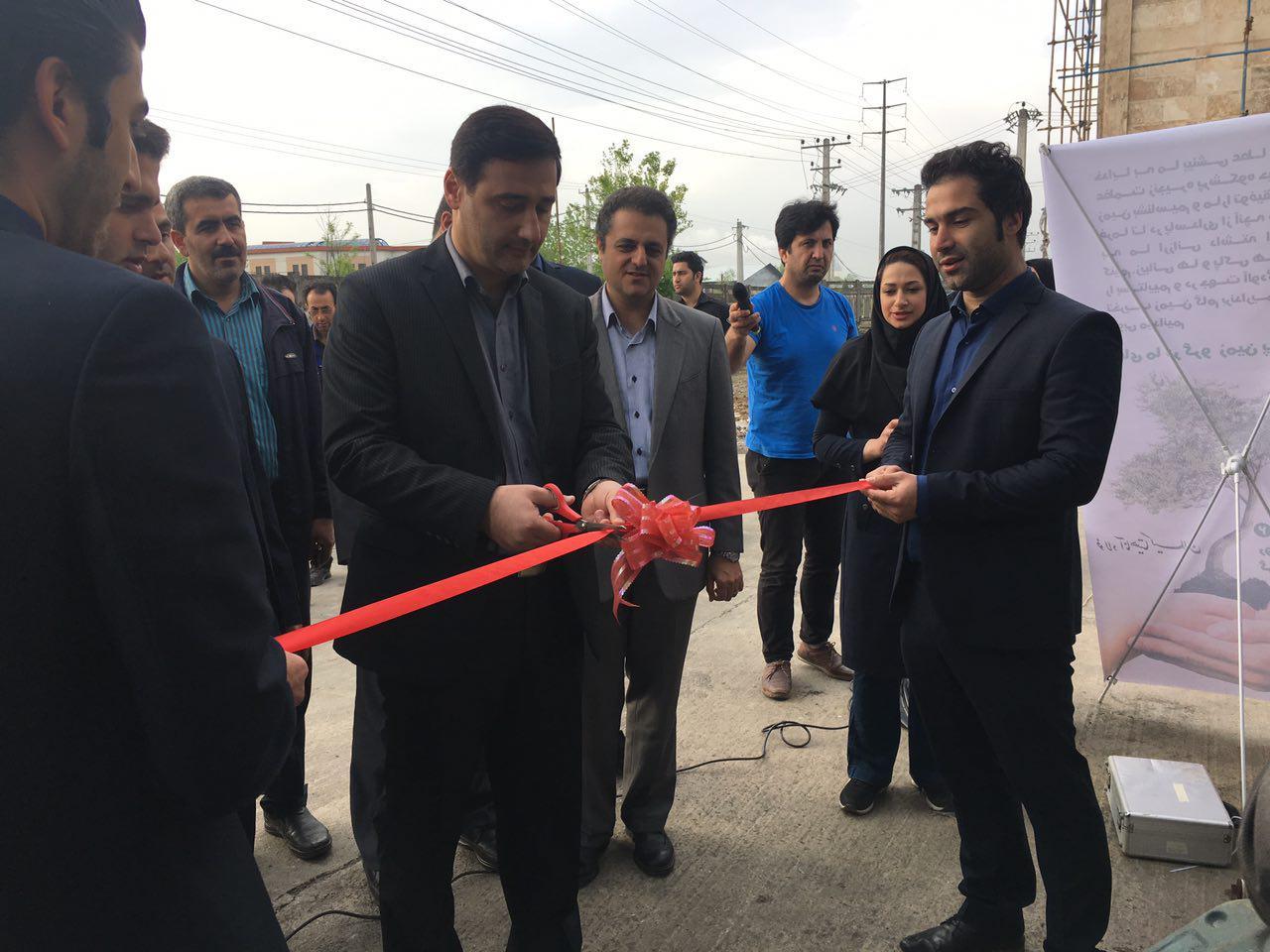افتتاح سیستم تصفیه فاضلاب فولاد اناهیتا در شهر صنعتی رشت