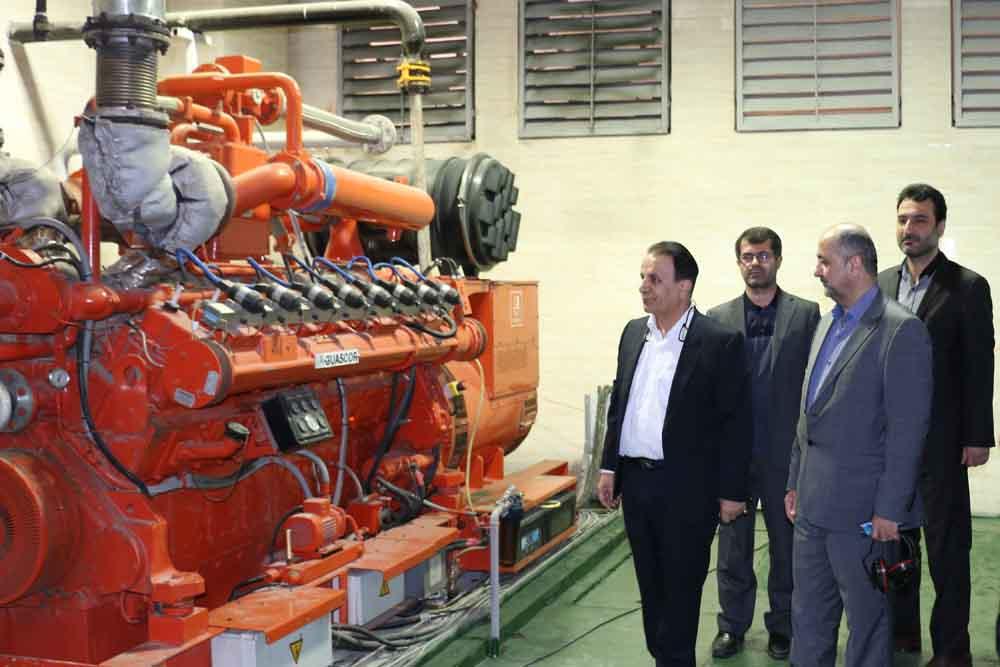 راهاندازی اولین نیروگاه ۱ مگاواتی تولید پراکنده CCHP در استان گیلان
