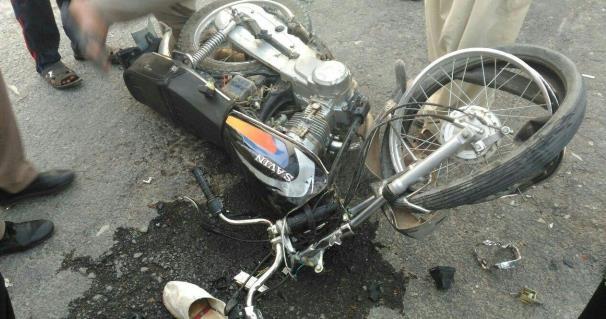 تصادف مرگبار ۲ موتورسیکلت