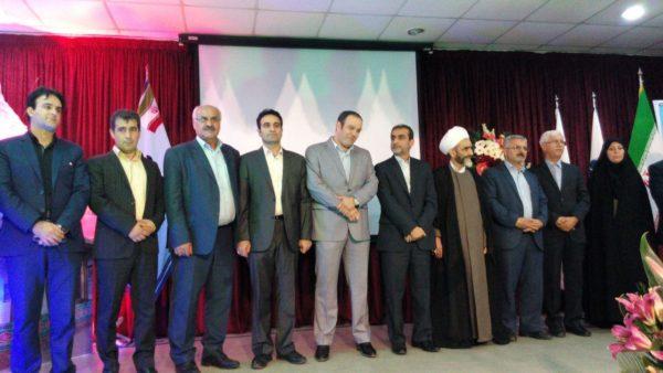 مراسم معارفه مسعود کاظمی به عنوان شهردار لاهیجان