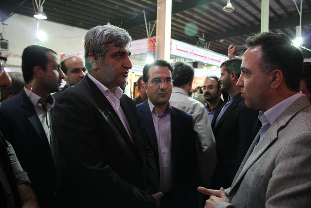 گشایش اولین نمایشگاه تولیدات برتر گیلان با حضور استاندار گیلان به روایت تصویر