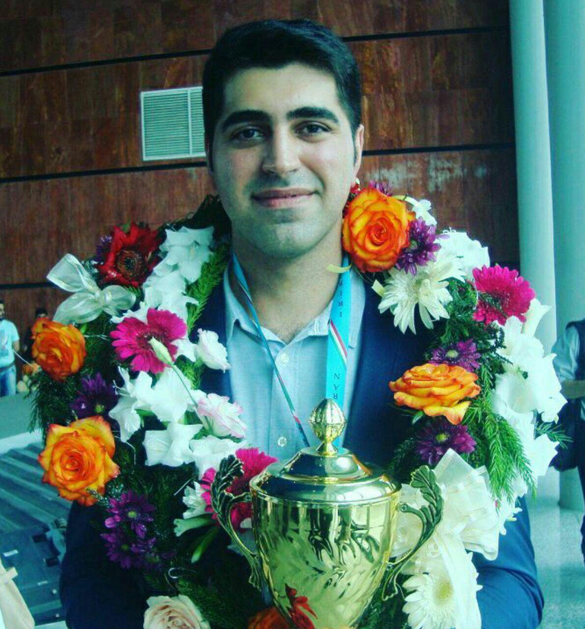 کسب مقام نائب قهرمانی شطرنج باز گیلانی در جام کارپُف