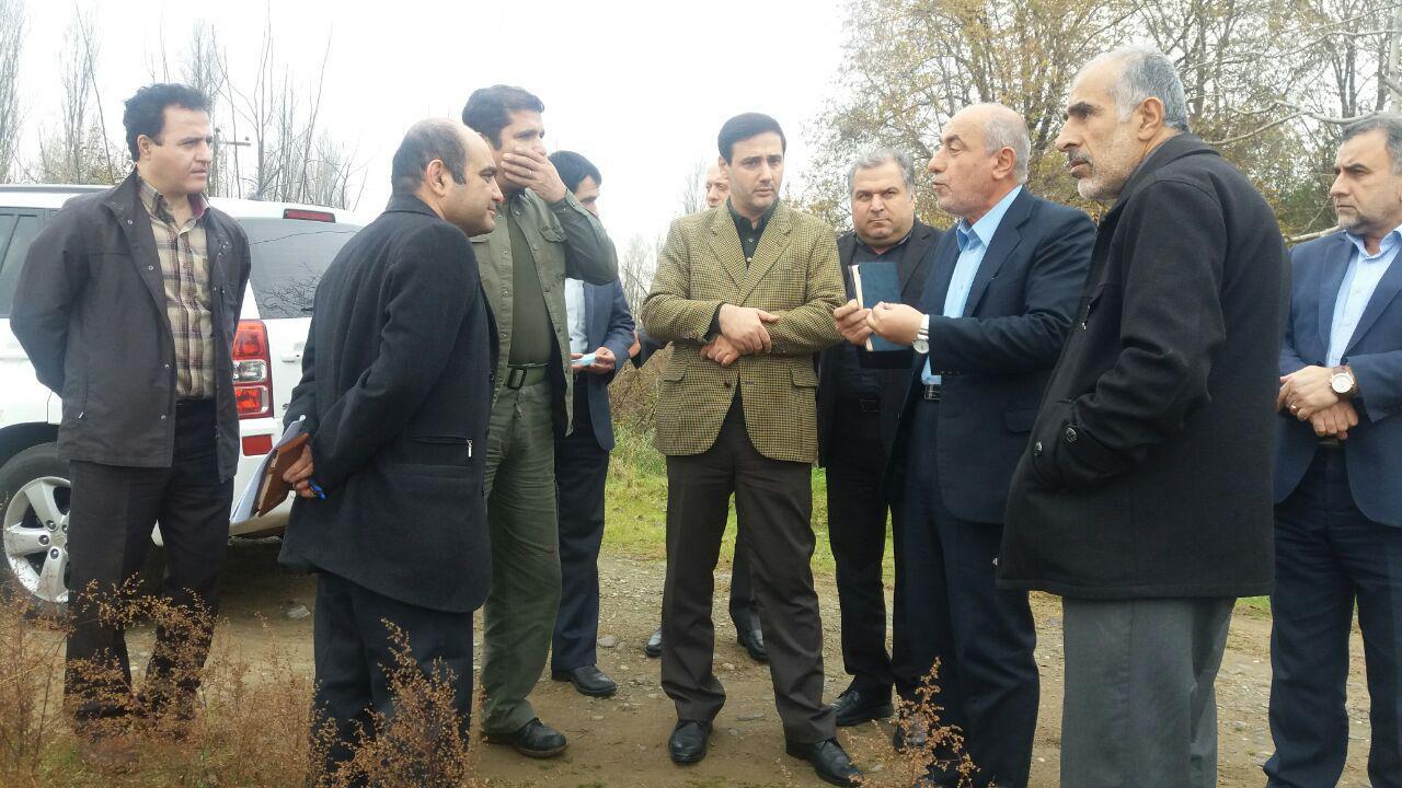 بازدید مدیر کل حفاظت محیط زیست گیلان از محل پروژه زیست پالایی تسریع یافته تالاب انزلی