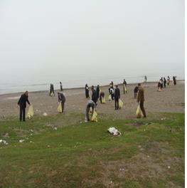 اجرایی شدن طرح مسیر سبز – ساحل پاک در رضوانشهر