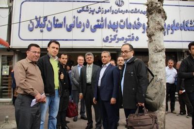 چهارمین تیم درمانی دانشگاه علوم پزشکی گیلان به مناطق زلزله زده کرمانشاه اعزام شد
