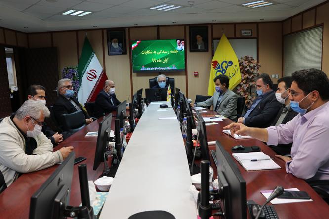 جلسه رسیدگی به شکایات شرکت گاز استان گیلان برگزار شد