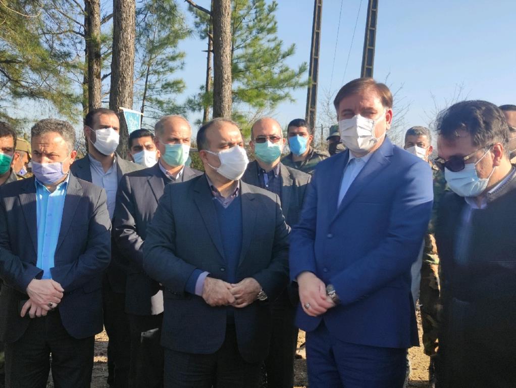 استاندار گیلان از طرح زراعت چوب خرفکل شهرستان شفت بازدید کرد