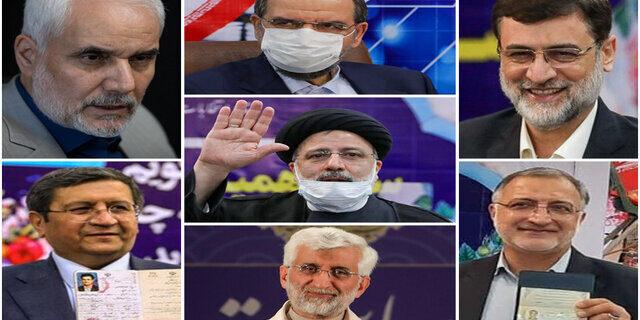نکاتی که باید درباره ۷ کاندیدای انتخابات ۱۴۰۰ بدانید
