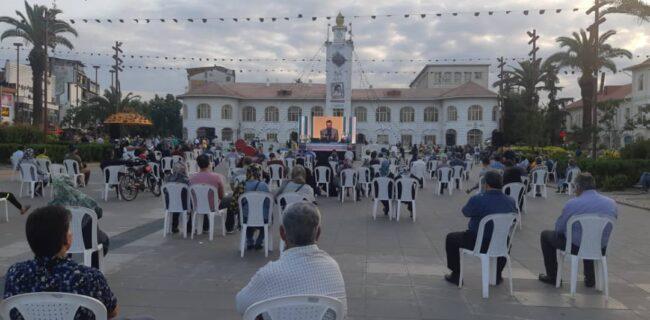 پخش مناظرههای انتخاباتی در پیاده راه فرهنگی شهر رشت