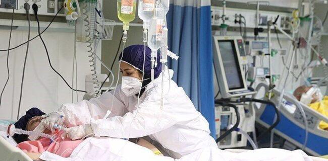 افزایش بیماران کرونایی بستری در بیمارستانهای گیلان
