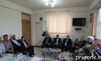 برگزاری مجمع عمومی انجمن حمایت از زندانیان فومن با حضور فرماندار ودادستان شهرستان فومن