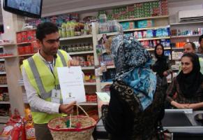 جایگزینی زنبیل به جای کیسه های پلاستیکی در لاهیجان