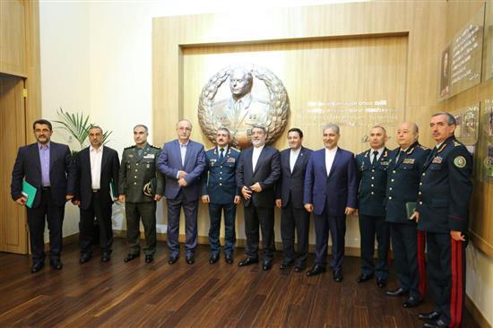تهران و باکو بر تقویت تعاملات امنیتی و مرزبانی تاکید کردند