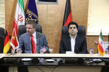 نماینده شرکت زیگلر (آلمان) با شهردار رشت دیدار کرد