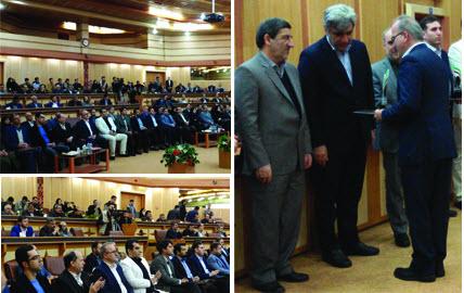 کسب رتبه برتر آبفای گیلان در هیجدهمین جشنواره هفته پژوهش و فناوری استان