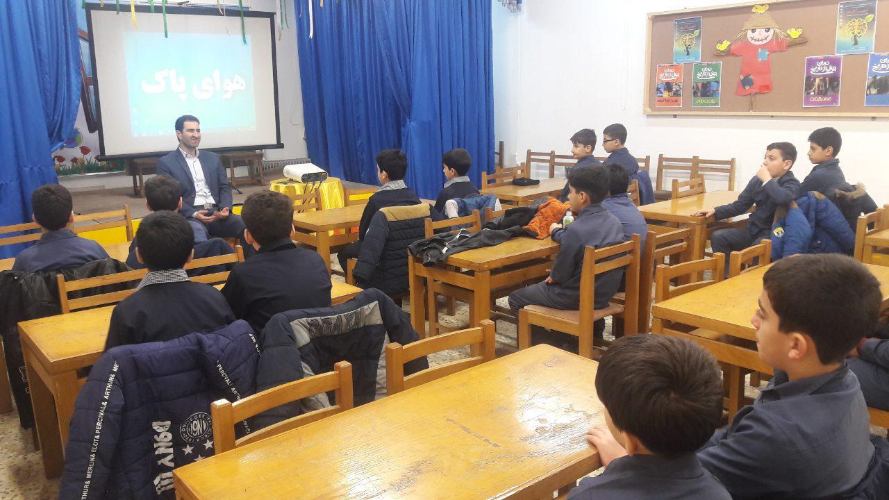 مراسم روز هوای پاک در کانون پرورش فکری کودکان و نوجوانان سیاهکل برگزار شد