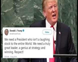 ترامپ مایه خنده جهان شد
