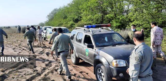 تخریب ۱۷ کومه غیرمجاز صیادی در پاک ملی بوجاق کیاشهر
