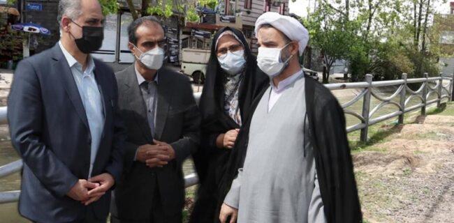 به کارگیری بهینه نرده های جمع آوری شده از بلوار امام خمینی (ره) رشت در نقاط پر مخاطره رشت