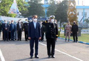 مراسم گرامیداشت روز ارتش در مرکز آموزش تخصصهای دریایی باقرالعلوم (ع) رشت