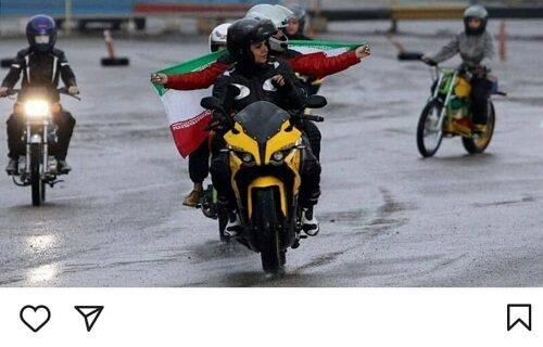 واکنش جالب ابتکار به موتورسواری بانوان