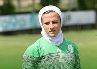 حضور بانوی گیلانی در اردوی تیم ملی فوتبال