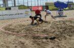 آغاز مسابقات کشتی ساحلی قهرمانی کشور در انزلی