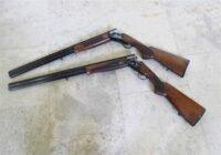 کشف و ضبط  دو قبضه سلاح  شکاری غیر مجاز در رضوانشهر