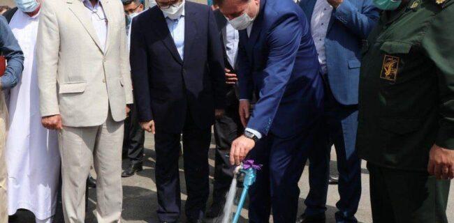 بهرهبرداری همزمان ۲۴ پروژه آب و فاضلاب گیلان با حضور استاندار در رضوانشهر